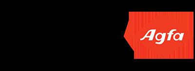 Logo of Agfa healthcare