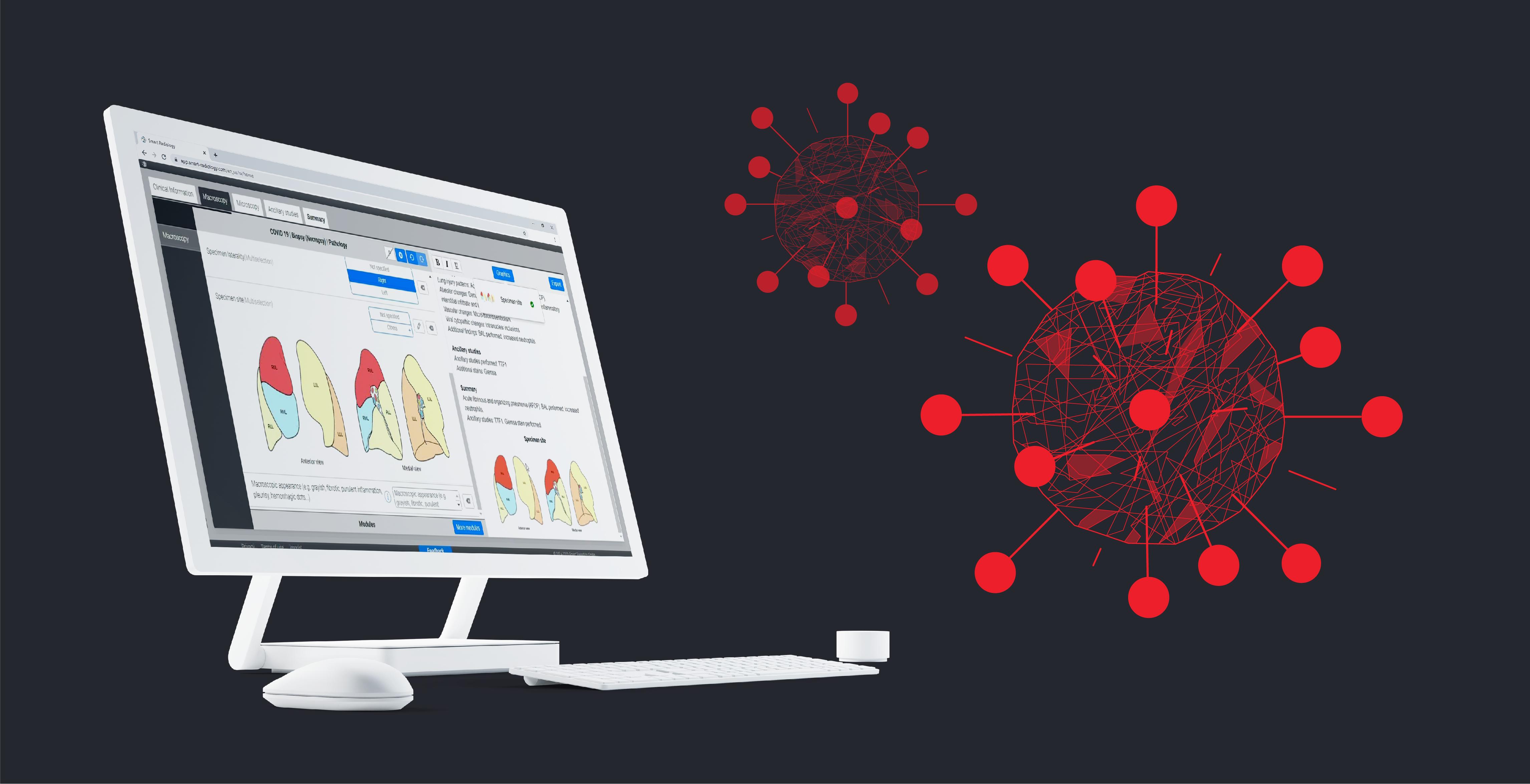 Smart Reporting bietet eine neue COVID-19 Befundvorlage für Pathologie an