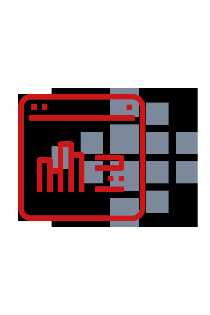 Report mit Smart Reporting Logo imHintergrund